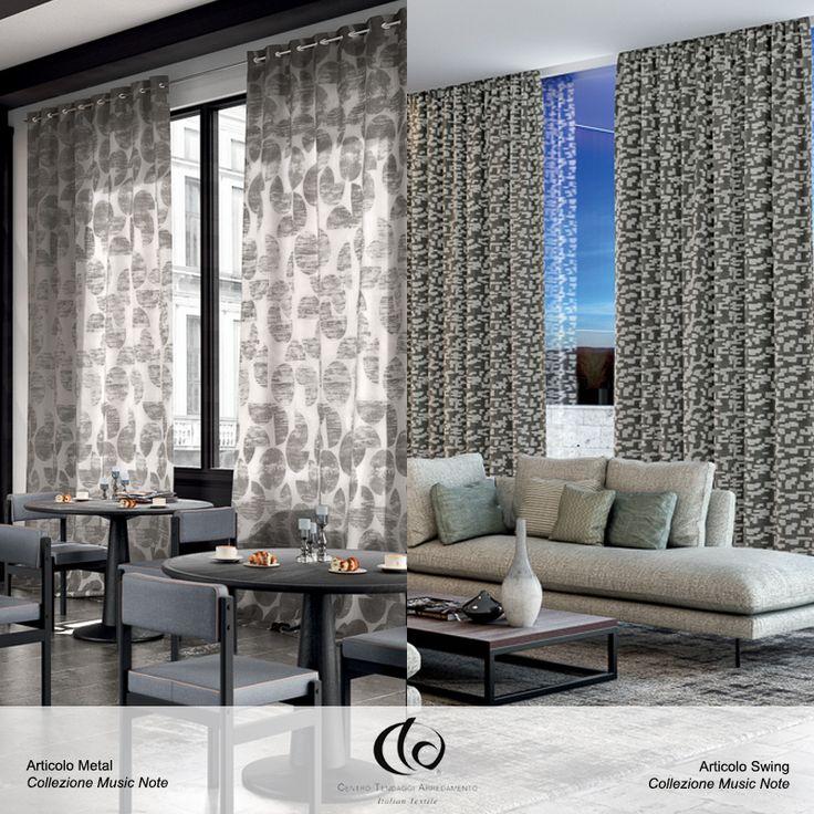La sentite la melodia? Sono #Swing e #Metal, articoli della Collezione #MusicNote, che vibrano nell'aria! ✨  Visita il nostro sito www.ctasrl.com e scarica le nostre brochure su: http://bit.ly/1nhrLQM #tessuti #interiordesign #tendaggi #textile #textiles #fabric #homedecor #homedesign #hometextile #decoration
