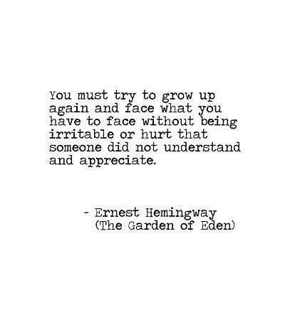 The Garden of Eden - Ernest Hemingway