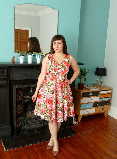 A Stitching Odyssey: Floria Dress - By Hand London