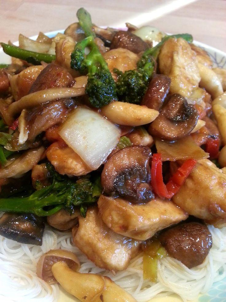 Slimming World Delights: Orange Chicken and Vegetable Stir Fry