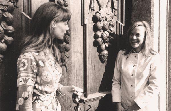 """""""Fleur Jaeggy e Ingeborg Bachmann a Vienna nel 1970. """""""