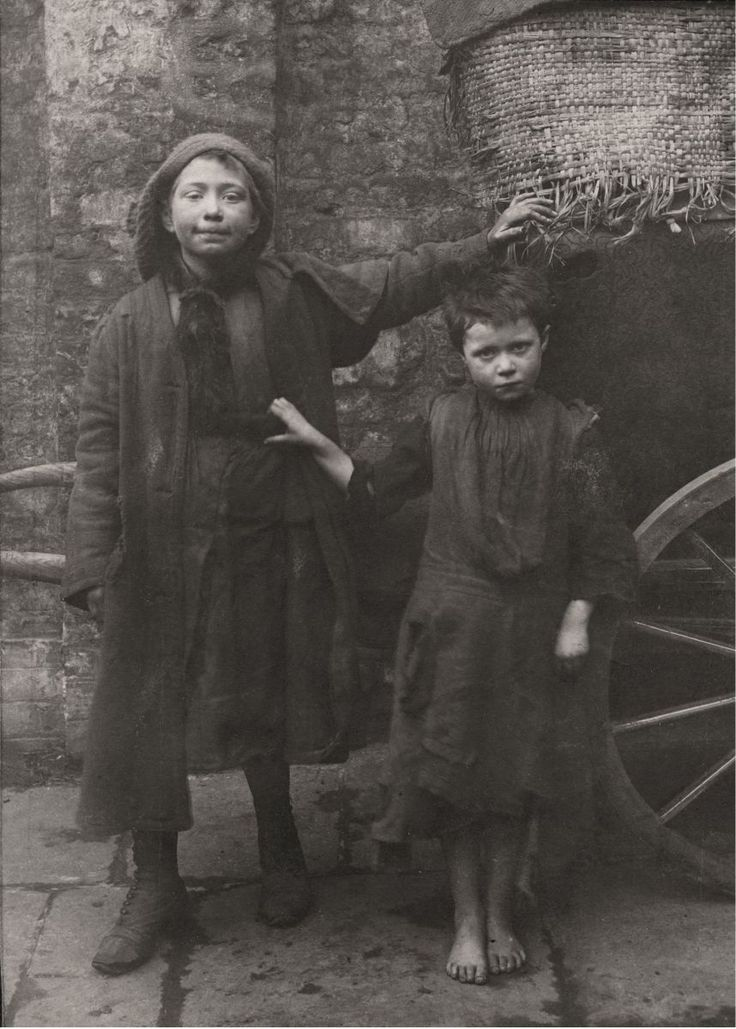 The Spitalfields Nippers show the East End before the welfare state. Many Nippers worked to support their families, touting for odd jobs at the nearby child labour market