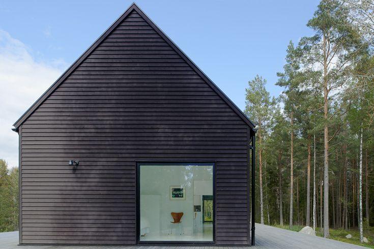 erik andersson architects: villa wallin, sweden - designboom | architecture