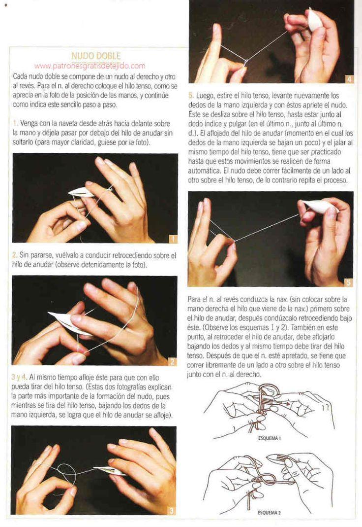 curso básico de cómo tejer frivolité