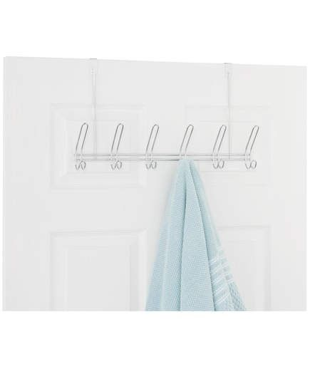 Over the Door Hooks | You can never have too much storage in your dorm room. These over-the-door hooks are perfect for wet towels and winter coats that might otherwise end up on the floor.