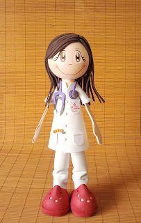 fofucha enfermera: Goma Eva, Fofucha Wrist, Ideas Fofucha, Gatos Fofucha, Fofucha Foami Dolls Diy, Dolls Fofucha, Fofucha Enfermera, Mosgummi Fofucha, Fofucha Profe
