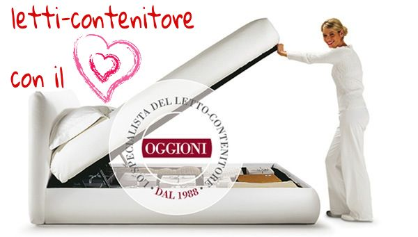 Storage beds with passion <3 http://www.oggioni.it/english/home.asp