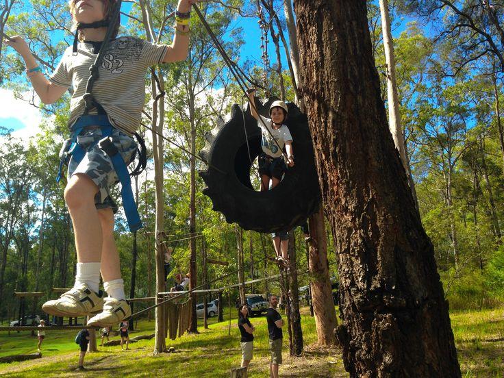Medium Ropes Course Murphys Creek Escape