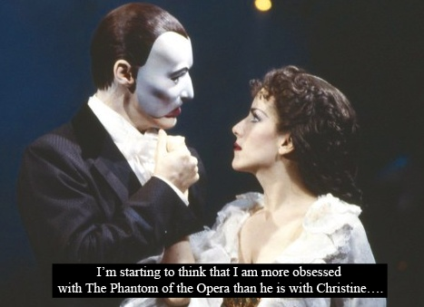 The Phantom of the Opera | Tumbler Confession: