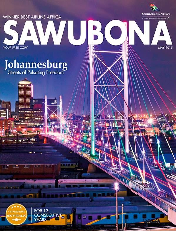 May 2015 cover: JOHANNESBURG