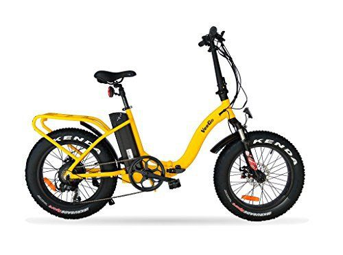 Product review for VeeGo Folding Fat Tire Electric Bicycle with a 500W Bafang Hub Motor and Heavy Duty Cargo Rack - Introducing VeeGo – the ultimate folding fat tire cargo electric bicycle! We have designed our latest electric bicycle to include all the features you could ask for while maintaining the quality we are known for. Versatile enough for commuting to work, exploring off-road, frolicking...