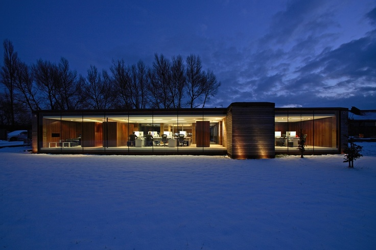 Studio, dusk/winter