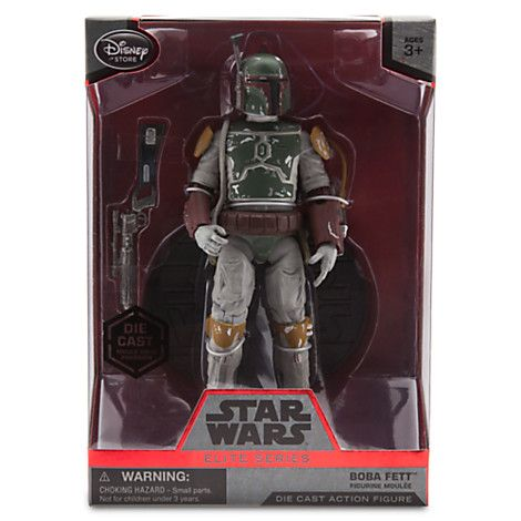 BOBA FETT | Disney Store exclusive ELITE SERIES 2015 | swmycollection.com