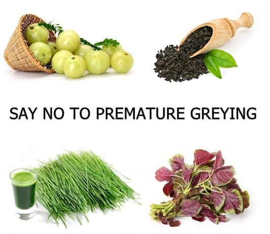 Top 10 Remedies For Premature Greying