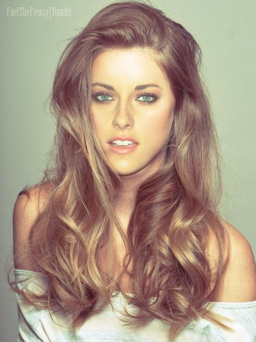kristen stewart!? crazy...love her hair.