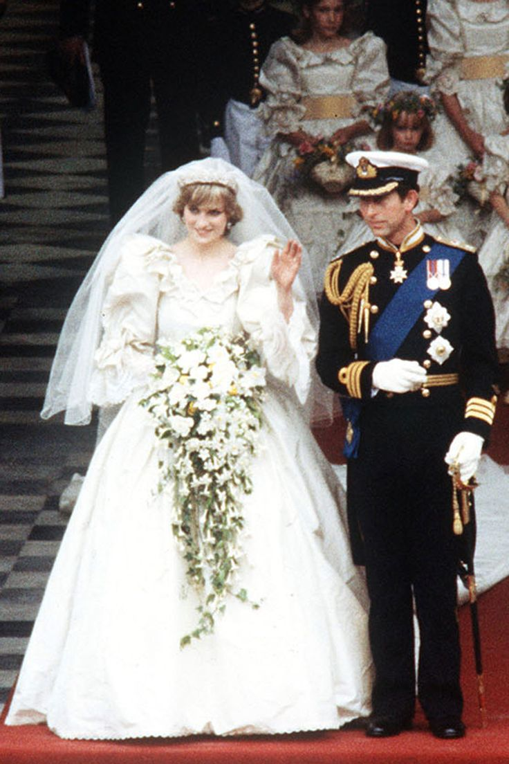 Wedding Of Lady Diana Spencer Prince Charles Watched By Millions In A
