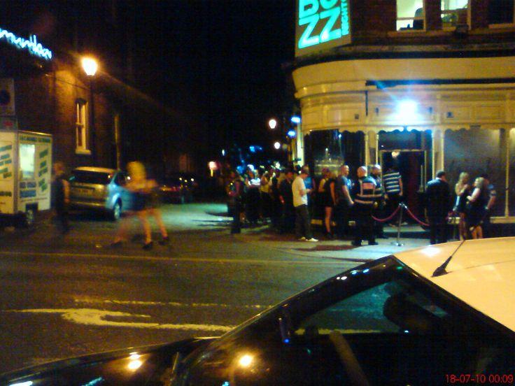 Buzz Bar, Westgate Wakefield.