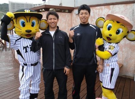最後にダブル伊藤選手と記念写真グッド