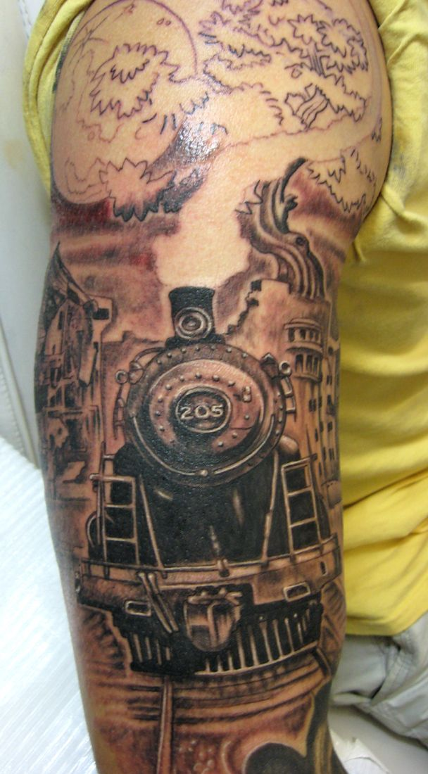 150 best images about tattoos on pinterest michigan for Crazy train tattoos