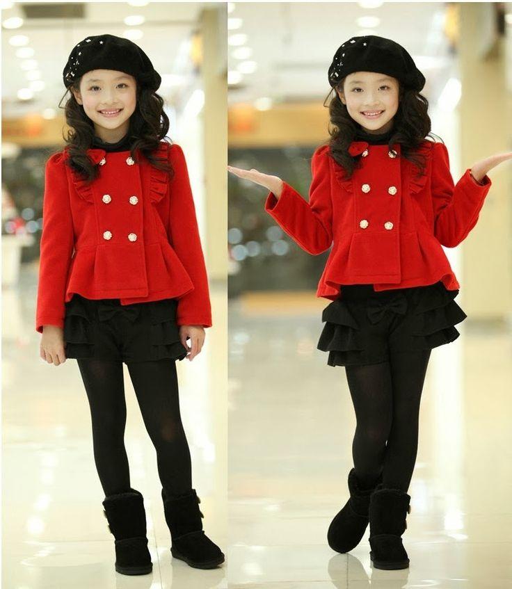 Looks de moda para niñas ,