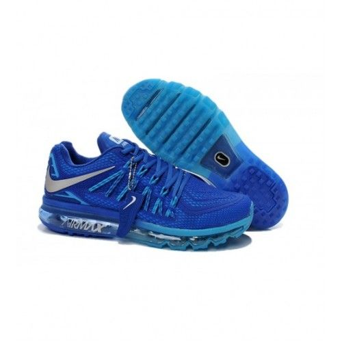 4dcd51a7baa Nike Homens - Barato Nike Air Max 2015 Kpu Homens Tenis De Corrida Azul 0406