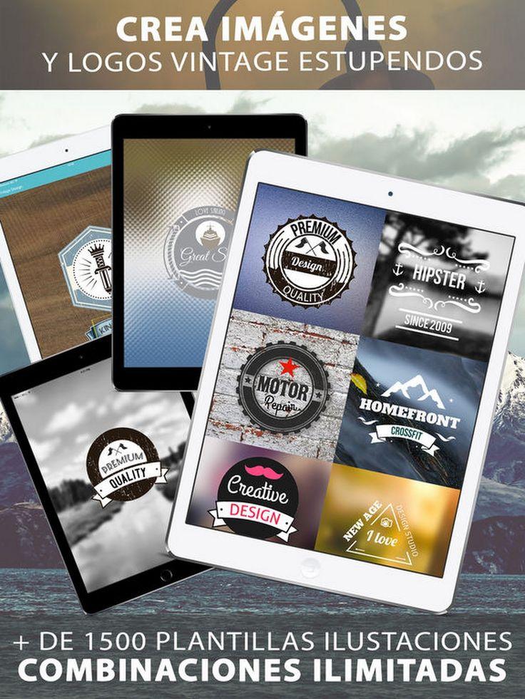 Diseño Retro - Creador de logotipos y afiches DIY en App Store http://apple.co/2jyCAn6