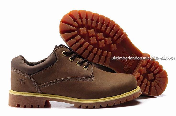 Timberland Chukka Boots For Women Waterproof Oxford - Brown Yellow $ 73.00
