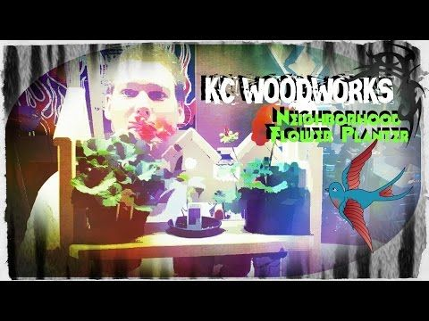 """The Neighbourhood Flower Planter for Under $10 - YouTube Cool build for anyone to do, $20 for 16"""" feet pine barn board and each one of my Neighbourhood Planters only uses 40"""" inches of the 11 1/4""""inch! #woodworking #homeandgarden #diywoodwotking"""