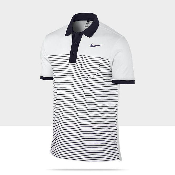 Nike Sport Stripe Pocket Mens Golf Polo