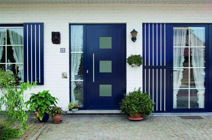 Frager deurpanelen, diverse kleuren en design. #blauw
