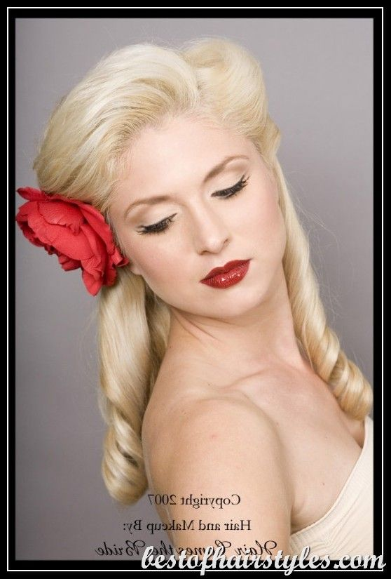 1950 S Hairstyles 1 The Site Wedding