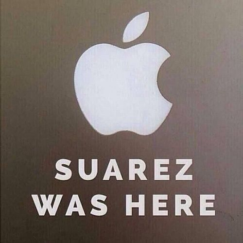 #Suarez #WorldCup The internet responds with memes after Suarez biting