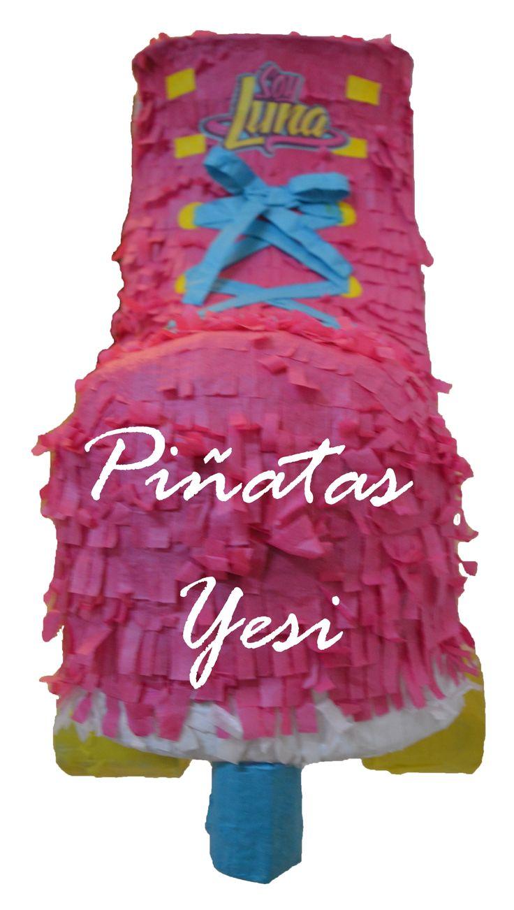 Piñata Artesanal de Soy Luna