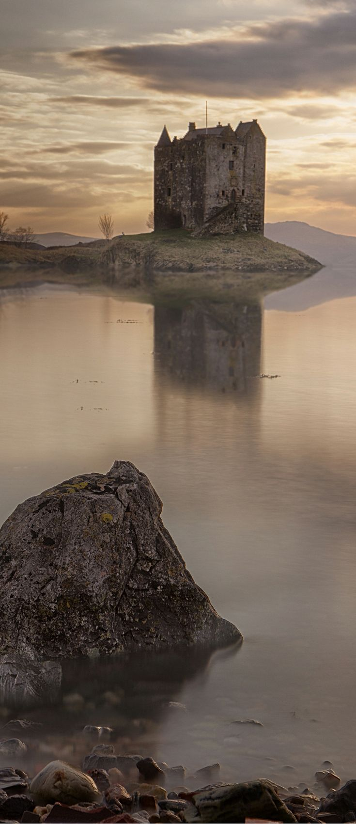 Scotland is awe-inspiring, powerful, and even spiritual. The country's crumbling ruins interspersed throughout the landscape truly move…