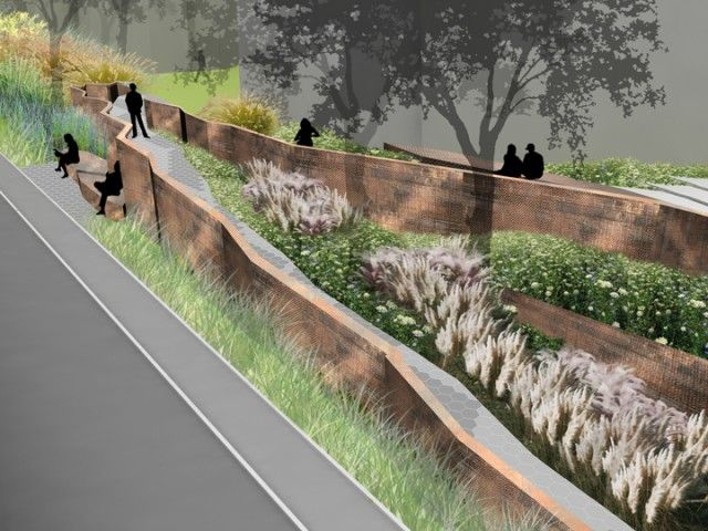 This excerpt comes from diana balmori 39 s a landscape for Landscape architecture firms