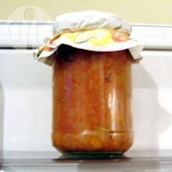 Tomato and Peach Chutney @ allrecipes.co.uk