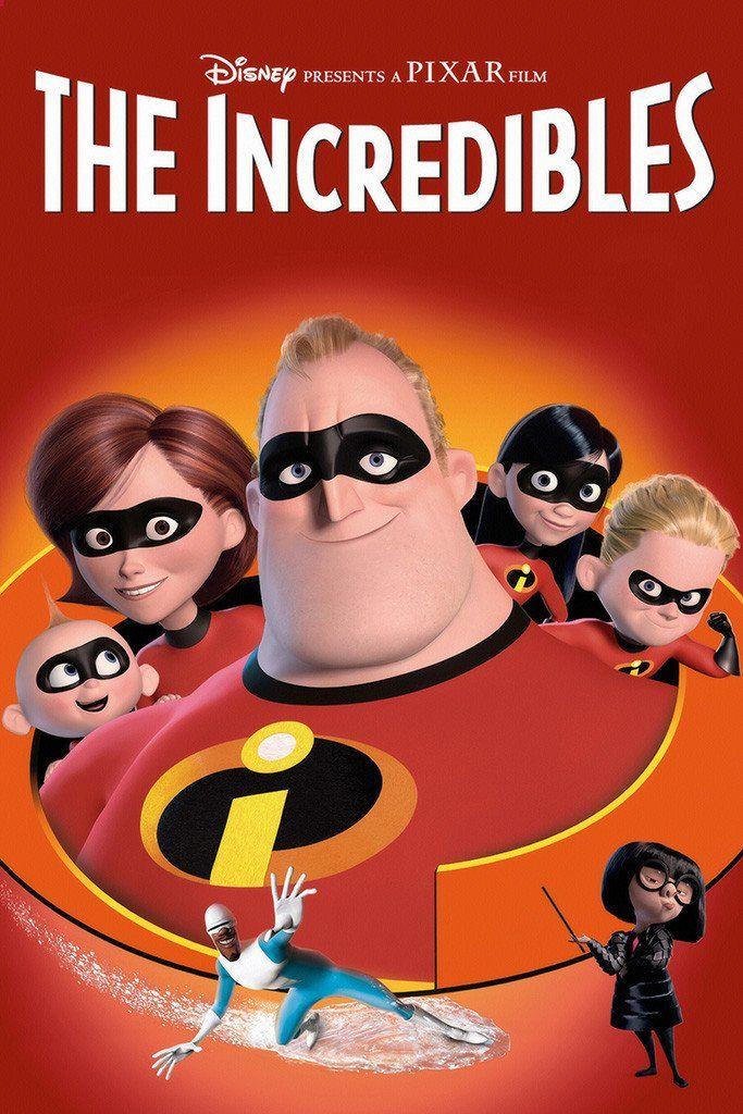 The Incredibles Poster Com Imagens Filmes Pixar Disney Films