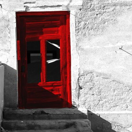 'red door' by james smit on artflakes.com as poster or art print $20.79