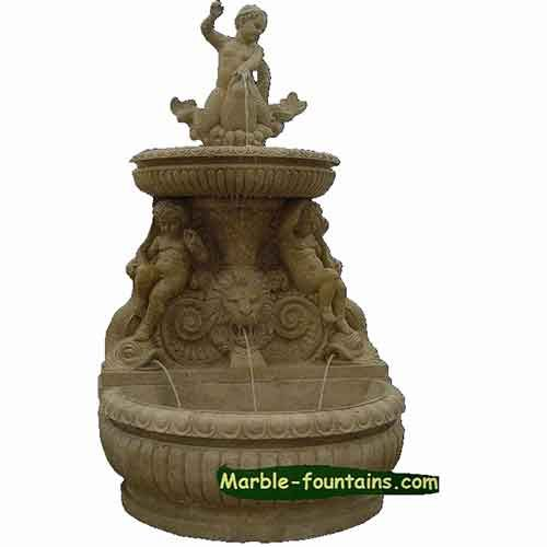 for sale dolphin fountain on sale 2015 hot selling mermaid fountain