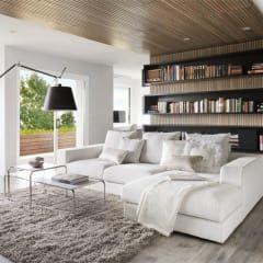 Salas multimedia de estilo minimalista por GSI Interior Design & Manufacture
