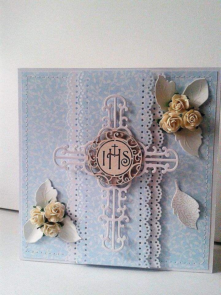 Kasia Socha Kartka Komunia, First Communion Card, Invitation
