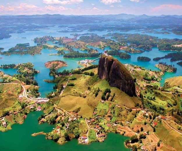 And fairy land around Guatape on the way to Medellin | A Trip Through The Land Of Magical Realism