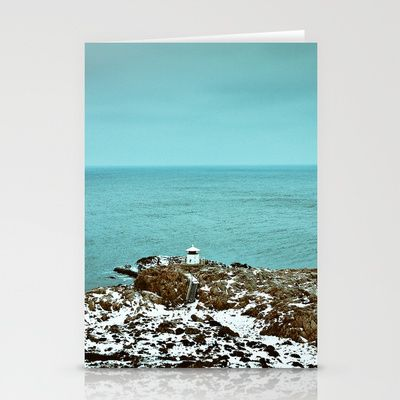 LIGHTHOUSE Stationery Cards by lilla värsting - $12.00
