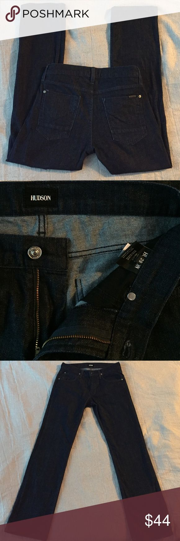 Hudson jeans Never worn/washed once Hudson jeans 29x31 (altered to 31 length) straight fit rinse wash Hudson Jeans Jeans Straight