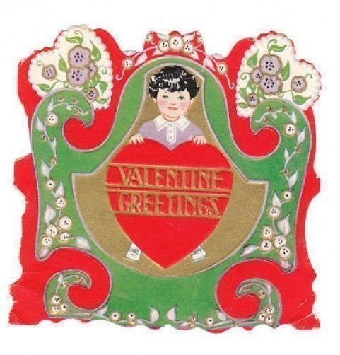 428 best images about Vintage Valentines – Boy Valentines Cards