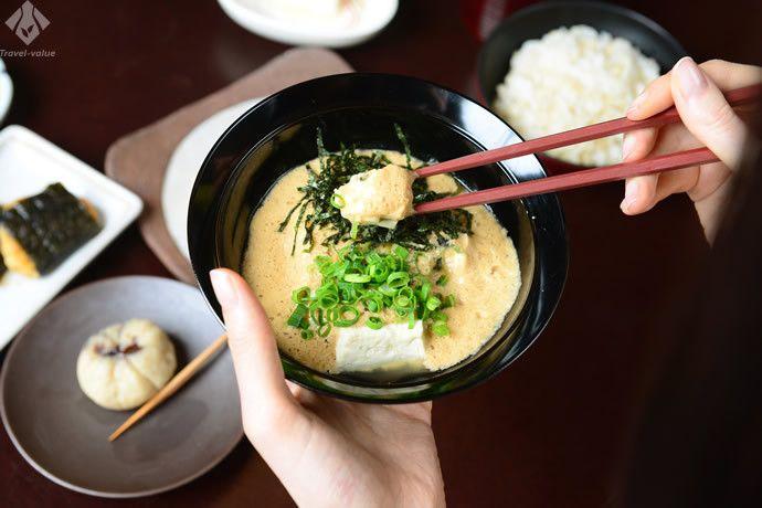 精進料理から着想した「早雲豆腐」