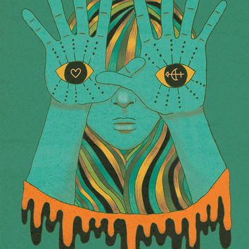 Best Psychedelic Poster Art Products on Wanelo