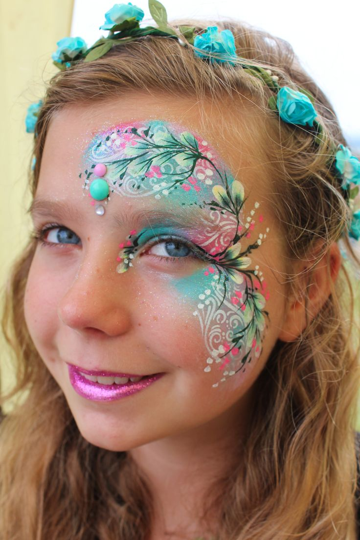 17 best images about girl face painting on pinterest face painting designs butterfly face and. Black Bedroom Furniture Sets. Home Design Ideas