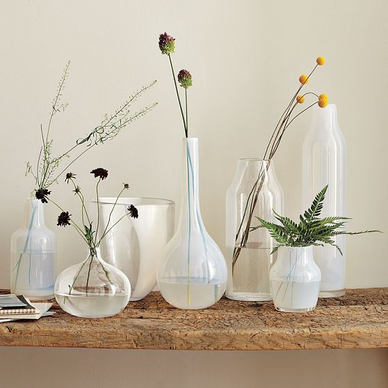 Real Simple: Ideas for Simple Glass Vases - Design Line - April 2011