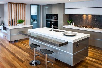 Organic White Caesarstone - kitchen benchtops